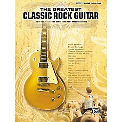 Hal Leonard The Greatest Classic Rock Guitar Book (322071)