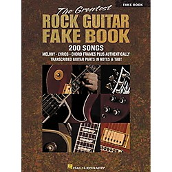 Hal Leonard The Greatest Rock Guitar Fake Book (240148)