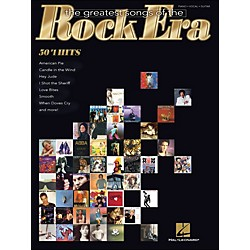 Hal Leonard The Greatest Songs Of The Rock Era - 50 #1 Hits arranged for piano, vocal, and guitar (P/V/G) (311343)