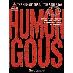 Hal Leonard The Humongous Guitar Songbook Tab Book (690816)