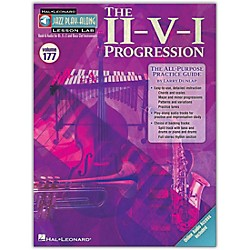 Hal Leonard The II-V-I Progression - Jazz Play-Along Lesson Lab Vol. 177 Book/CD (843239)