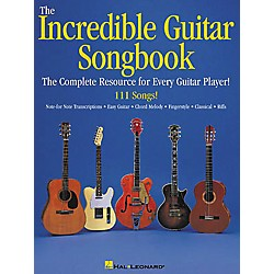 Hal Leonard The Incredible Guitar Songbook Book (699245)