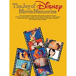 Hal Leonard The Joy Of Disney Movie Memories Arranged for Solo Piano (310802)