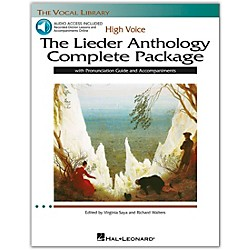 Hal Leonard The Lieder Anthology Complete Package for High Voice Book/Pronunciation Guide/5 CDs (116919)