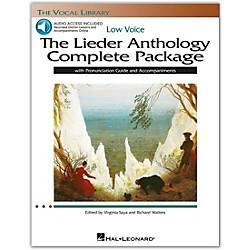 Hal Leonard The Lieder Anthology Complete Package for Low Voice Book/Pronunciation Guide/5 CDs (116920)
