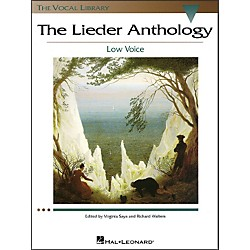 Hal Leonard The Lieder Anthology For Low Voice (The Vocal Library Series) (740220)