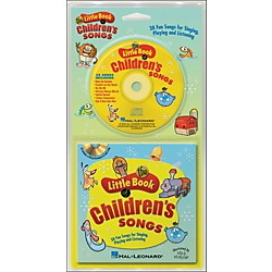 Hal Leonard The Little Book Of Children's Songs Book/CD arranged for piano, vocal, and guitar (P/V/G) (240220)