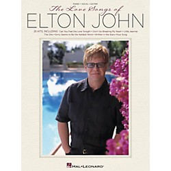 Hal Leonard The Love Songs Of Elton John For Piano/Vocal/Guitar (307212)