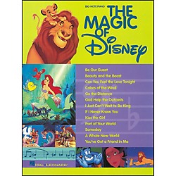 Hal Leonard The Magic Of Disney For Big Note Piano (310319)