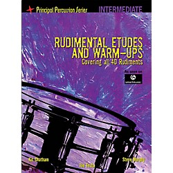 Hal Leonard The Principal Percussion Series Inter Level - Rudimental Etudes & Warm-Ups Covering All 40 Rudiments (6620172)