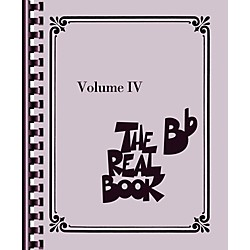 Hal Leonard The Real Book - Volume 4 (B Flat Edition) (103348)