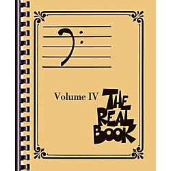 Hal Leonard The Real Book - Volume 4 (Bass Clef Edition) (103350)