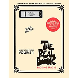 Hal Leonard The Real Book Backing Tracks, Volume 1 (USB Flash Drive) (110599)