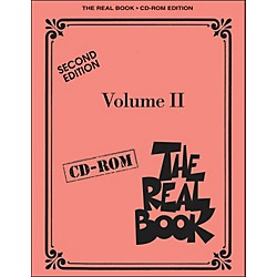 Hal Leonard The Real Book Volume 2 Second Edition C Instruments CD-Rom/Pkg (451088)