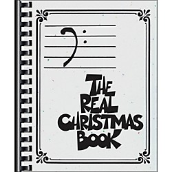 Hal Leonard The Real Christmas Book - Bass Clef Edition (240347)
