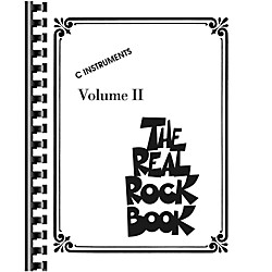 Hal Leonard The Real Rock Book Volume 2 Fake Book for C Instruments (240323)