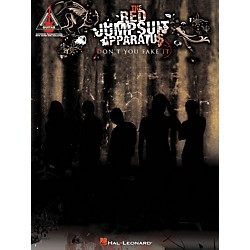 Hal Leonard The Red Jumpsuit Apparatus - Don't You Fake It Guitar Tab Songbook (690893)