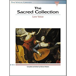 Hal Leonard The Sacred Collection For Low Voice (The Vocal Library Series) (740156)