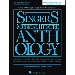 Hal Leonard The Singer'Ss Musical Theatre Anthology Mezzo-Soprano/ Belter 16 Bar Audition (230040)