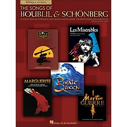 Hal Leonard The Songs Of Boublil And Schonberg - Women's Edition (1192)