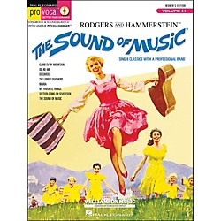 Hal Leonard The Sound Of Music Pro Vocal Series For Female Singers Volume 34 Book/CD (740389)