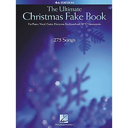 Hal Leonard The Ultimate Christmas Fake Book 4th Edition (240045)