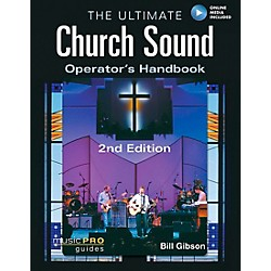 Hal Leonard The Ultimate Church Sound Operator's Handbook Book/DVD-ROM (333182)
