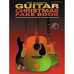 Hal Leonard The Ultimate Guitar Christmas Fake Book (240158)
