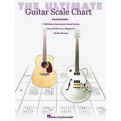 Hal Leonard The Ultimate Guitar Scale Chart Book (695478)