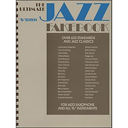 Hal Leonard The Ultimate Jazz Fake Book, The B Flat Edition (240080)