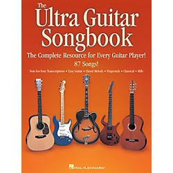 Hal Leonard The Ultra Guitar Songbook - The Complete Resource for Every Guitar Player! (700130)