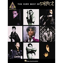 Hal Leonard The Very Best Of Prince Guitar Recorded Version Songbook (690925)
