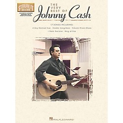 Hal Leonard The Very Best of Johnny Cash Guitar Tab Songbook (699514)