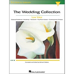 Hal Leonard The Wedding Collection For Low Voice (The Vocal Library Series) (444)