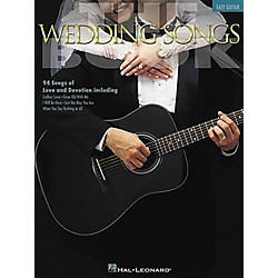 Hal Leonard The Wedding Songs Easy Guitar Tab Songbook (702167)