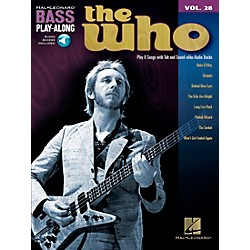 Hal Leonard The Who Bass Play-Along Volume 28 BK/CD (701182)