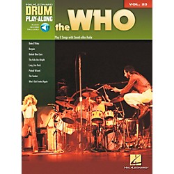 Hal Leonard The Who Drum Play-Along Volume 23 Book/CD (701191)