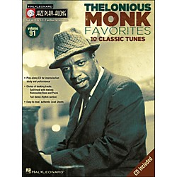 Hal Leonard Thelonious Monk Favorites - Jazz Play-Along Volume 91 CD/Pkg (841263)