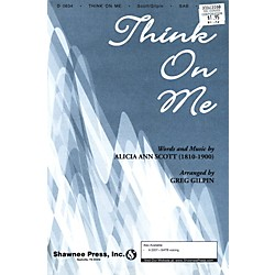 Hal Leonard Think On Me SAB (35023060)