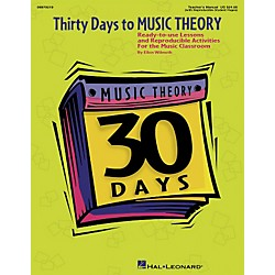 Hal Leonard Thirty Days to Music Theory (Classroom Resource) (9970219)