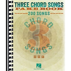 Hal Leonard Three Chord Songs Fake Book (240387)