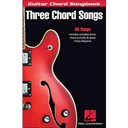 Hal Leonard Three Chord Songs Guitar Chord Songbook (699720)