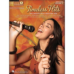 Hal Leonard Timeless Hits - Pro Vocal Songbook For Female Singers Volume 47 Book/CD (740421)