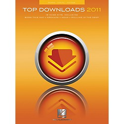Hal Leonard Top Downloads of 2011 for Piano/Vocal/Guitar Songbook (312556)