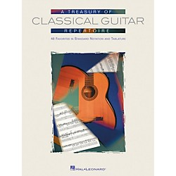 Hal Leonard Treasury of Classical Guitar Repertoire Tab & Notation Book (699671)