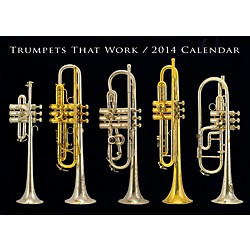 Hal Leonard Trumpets That Work 2014 Wall Calendar (121809)