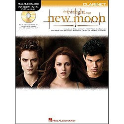 Hal Leonard Twilight: New Moon For Clarinet - Instrumental Play-Along CD/Pkg (842459)