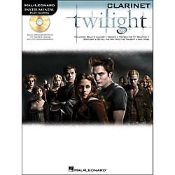 Hal Leonard Twilight For Clarinet - Music From The Soundtrack - Instrumental Play-Along Book/CD Pkg (842407)