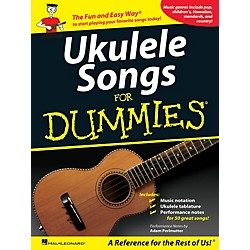 Hal Leonard Ukulele Songs For Dummies Songbook (701718)