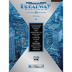 Hal Leonard Ultimate Broadway Platinum 3rd Edition Piano/Vocal/Guitar Songbook (311496)